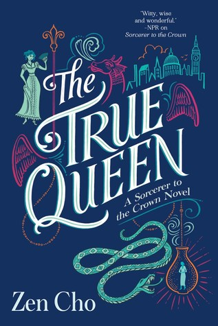 The True Queen book cover